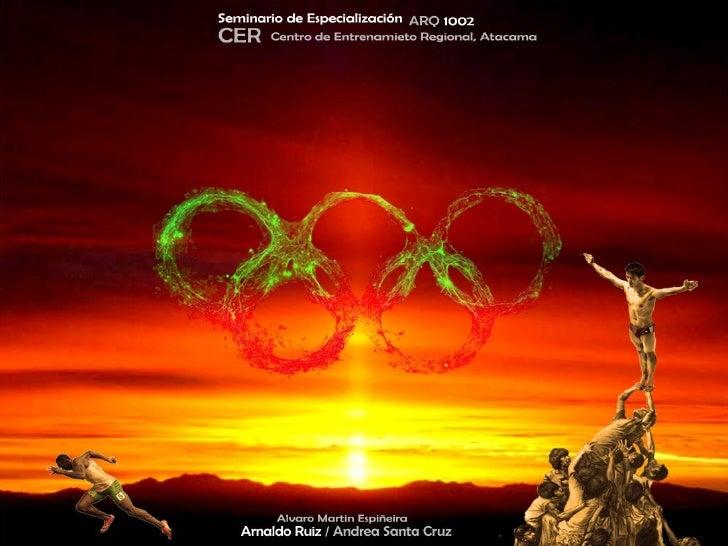 Centro de Entrenamiento Regional Olímpico               Copiapó, Atacama.          Universidad de las Américas         Fac...