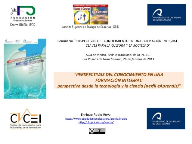 Centro LOYOLA-LPGC                       Instituto Superior de Teología de Canarias- ISTIC                     Seminario '...