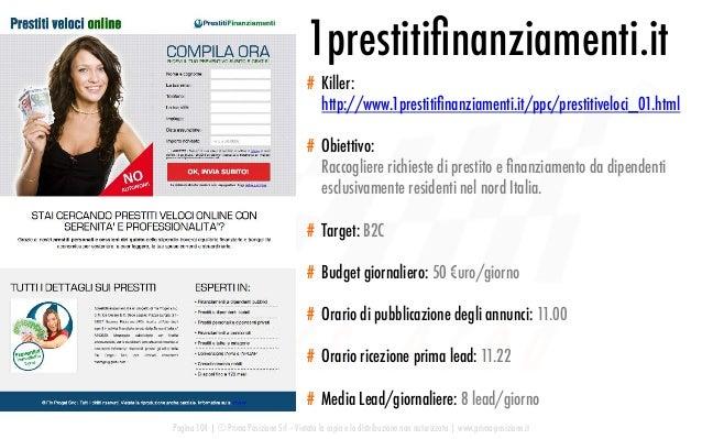 Pagina 104   © Prima Posizione Srl – Vietata la copia e la distribuzione non autorizzata   www.prima-posizione.it 1prestit...