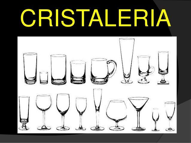Cocteleria basica for Cristaleria para bar