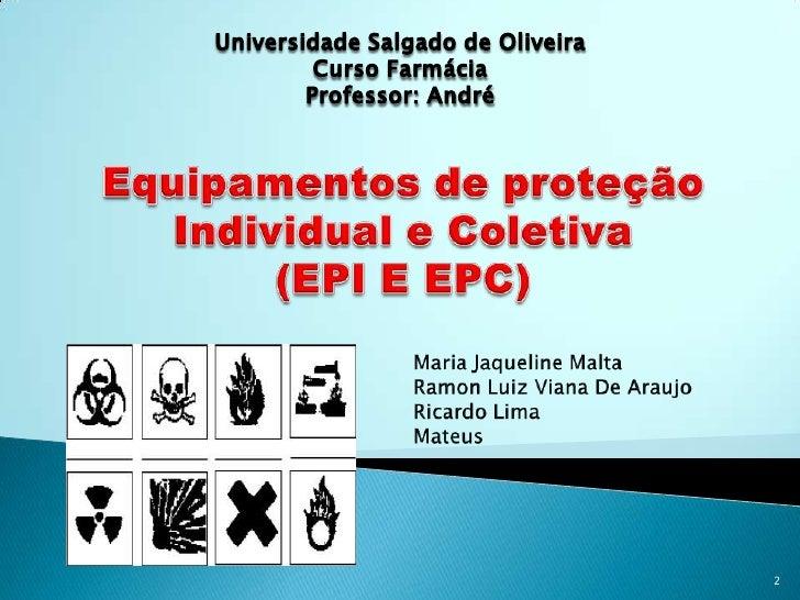 3c943f518b401 Seminario epi e epc. 1. 1  2. 2  3.
