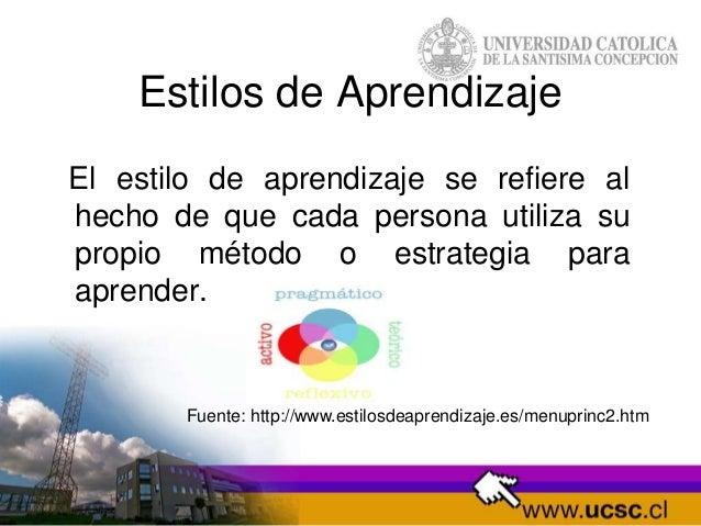 Estilos de aprendizaje Slide 2