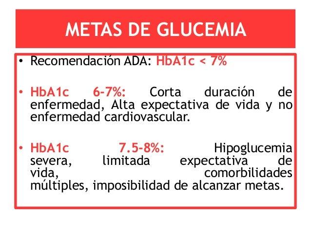 Seminario guias ADA 2012 - Diabetes Mellitus 2