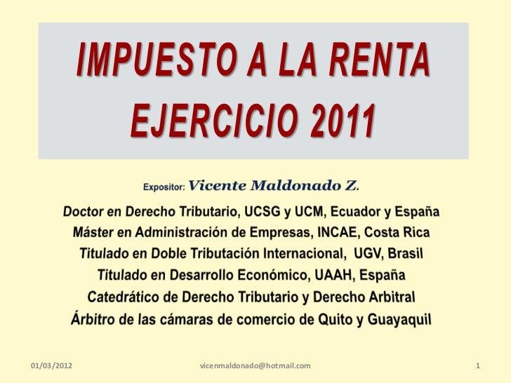01/03/2012   vicenmaldonado@hotmail.com   1