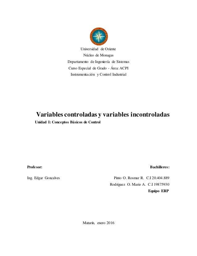 Universidad de Oriente Núcleo de Monagas Departamento de Ingeniería de Sistemas Curso Especial de Grado - Área: ACPI Instr...
