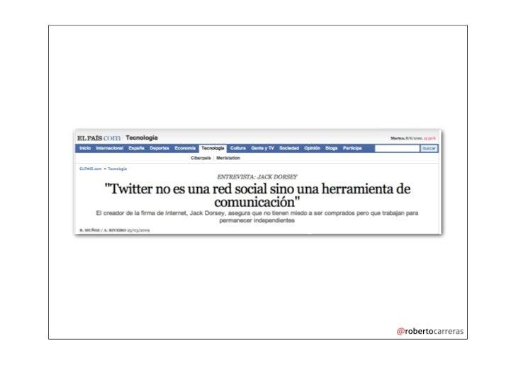 Seminario monográfico sobre cómo usar twitter Slide 2