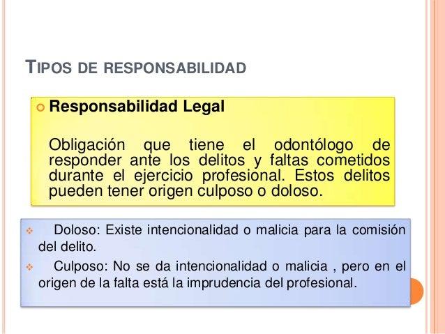 Seminario n 5 etica profesional y responsabilidad legal for Responsabilidad legal