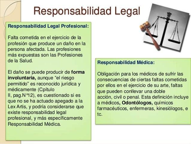 seminario n 5 tica profesional y responsabilidad legal