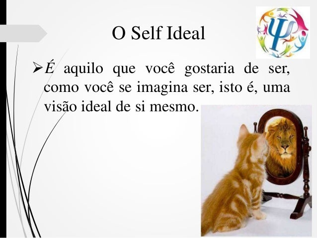 É aquilo que você gostaria de ser, como você se imagina ser, isto é, uma visão ideal de si mesmo. O Self Ideal