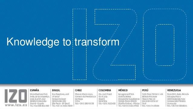 Knowledge to transform  knowledge to transform