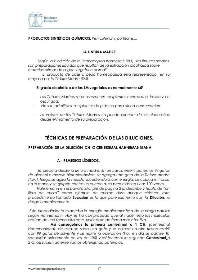 PRODUCTOS SINTÉTICOS QUÍMICOS. Peniculunum, cortisone,... LA TINTURA MADRE Según la X edición de la Farmacopea francesa (1...