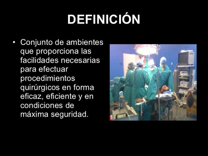 Seminario sala y mesa de operaciones equipo de anestesia for Definicion de mobiliario