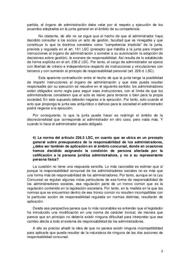 Seminario sobre criterios interpretativos de la reforma de la ley de sociedades de capital por la ley 31 2014 Slide 3