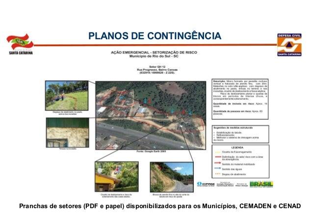 Semin rio defesa civil planos de contig ncias for App para planos