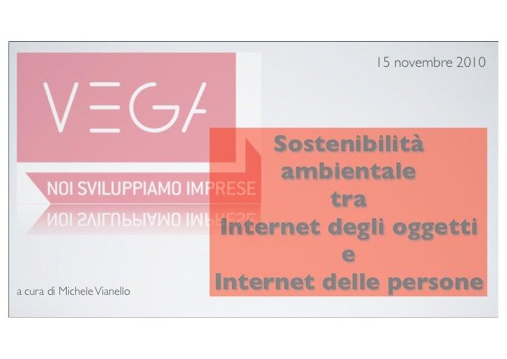 15 novembre 2010                                       Sostenibilità                                    ambientale        ...