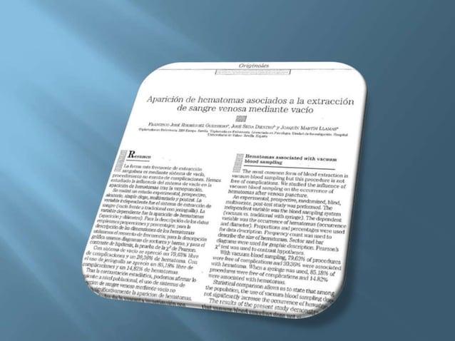 1. ¿Qué han investigado los autores del artículo? Los autores del artículo han estudiado lainfluencia del sistema de vací...