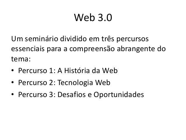 Web 3.0: desafios e oportunidades para as empresas Slide 2