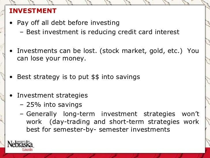 Short term stock trading strategies that work
