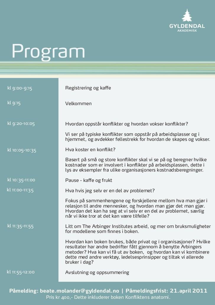 Programkl 9:00-9:15             Registrering og kaffekl 9:15                  Velkommenkl 9:20-10:05            Hvordan op...