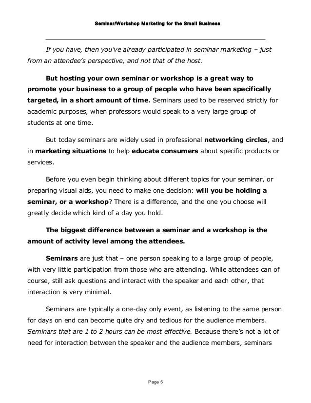 examples of report writing on an event pdf