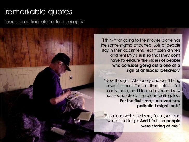feeling alone essay