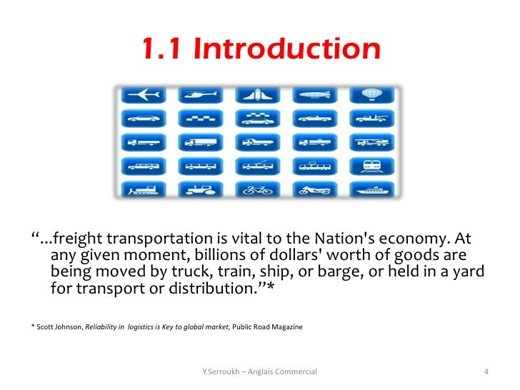 Modes of Transport in Logistics
