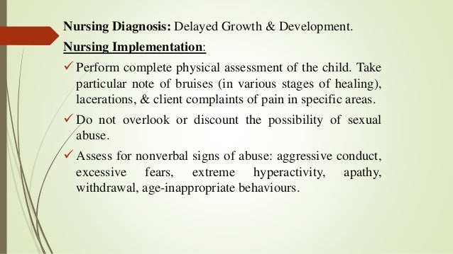 problems related to abuse or neglect