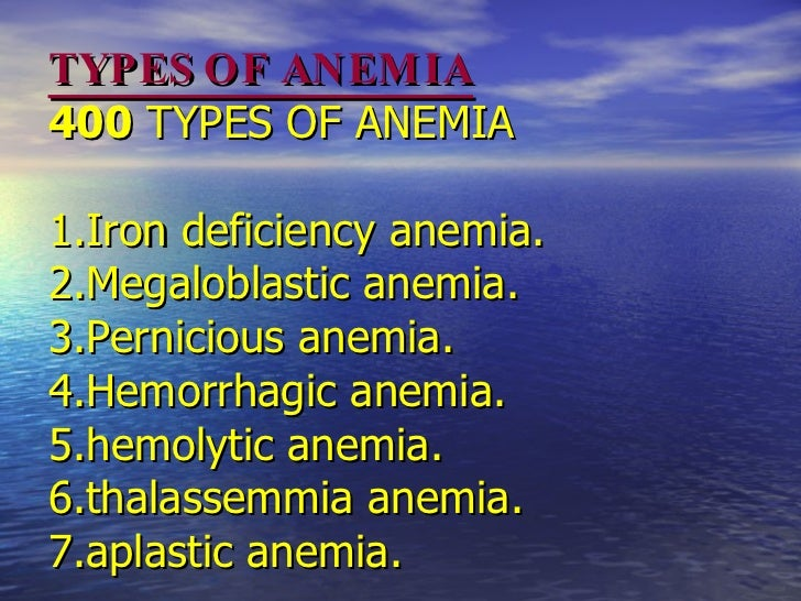 anemia ppt. Slide 3