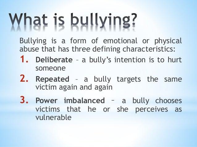 Seminar on bullying for teachers by bien lugo