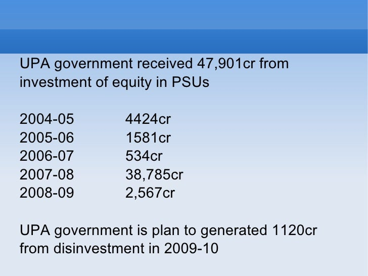 disinvestment in india Disinvestment in psus: just do it november 3 such moves could become controversial, but india's earlier experience of disinvestment in small tranches to.