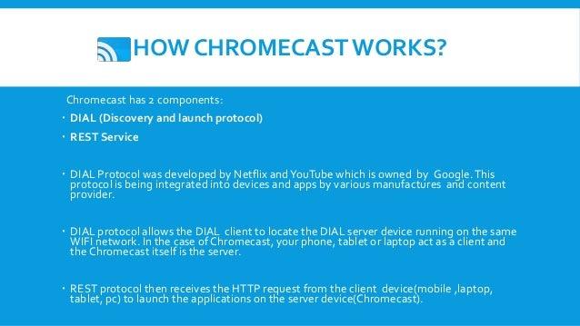 Seminar on google's chromecast technology