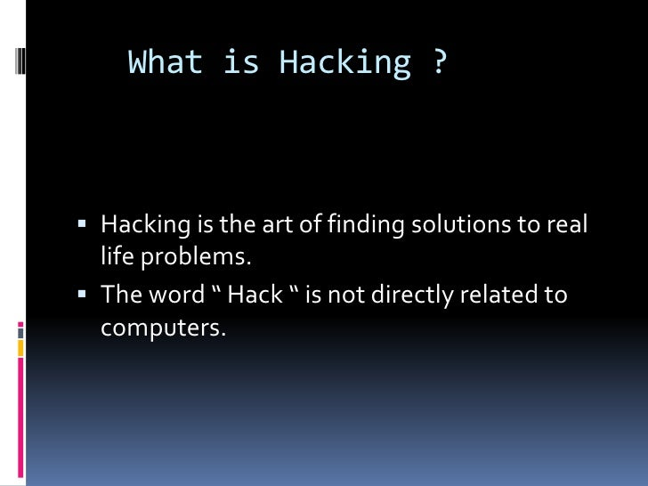 Introduction To Ethical Hacking Slide 3