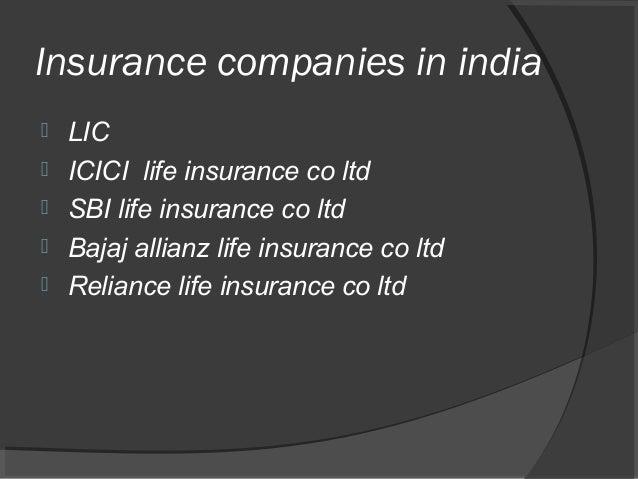 Seminar On Life Insurance