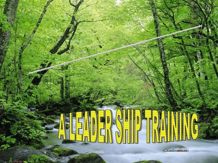 VIMP COURSE A LEADER SHIP TRAINING