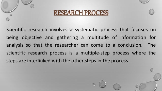 steps of  research process Slide 2