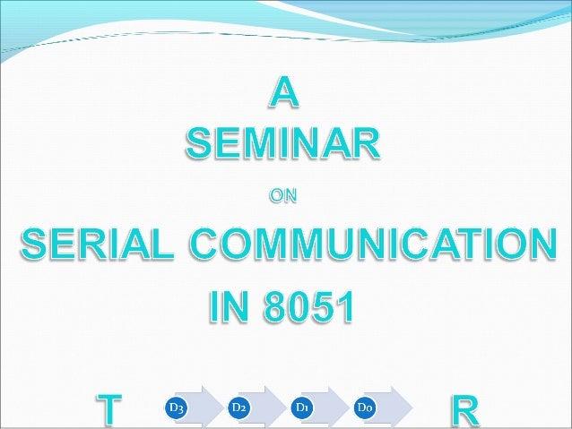 Serial vs. Parallel Data Transfer Sender Receiver Sender Receiver Serial Transfer Parallel Transfer D0-D7D0 Other control ...