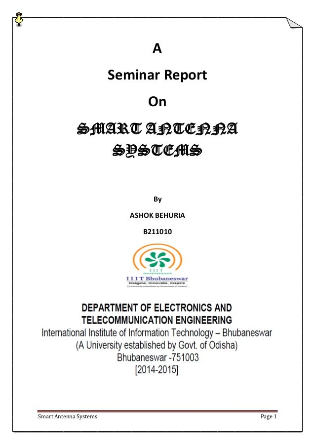 thesis on smart antenna system Smart antennas in wireless networks: system issues and performance limits i smart antennas in wireless systems 33 this thesis will investigate how some of.