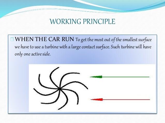 Seminar on wind power car