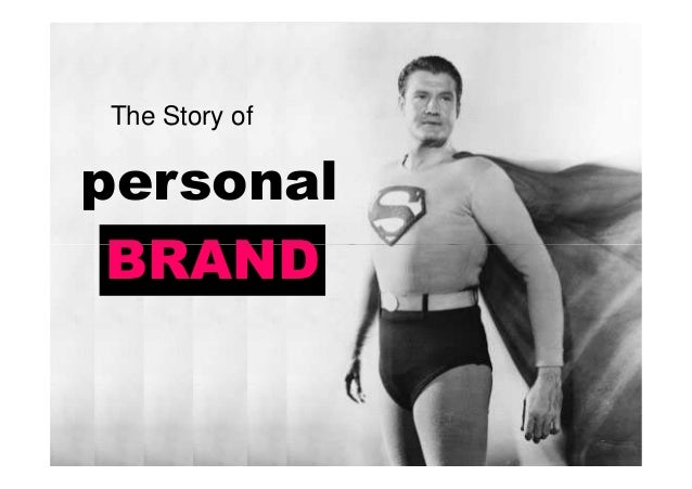 personal BRAND The Story of BRAND