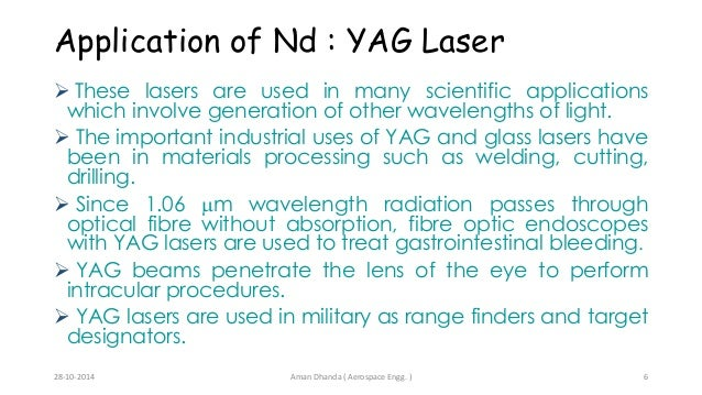 LASER CO2 and Nd:YAG