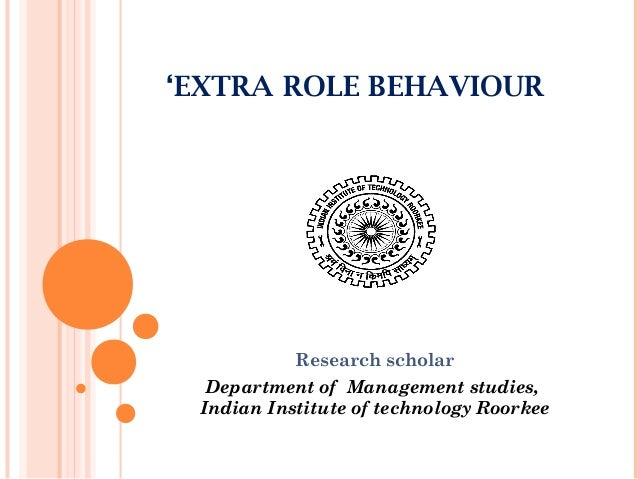 role of technology on behaviour of Organizational behavior and management thinking sheila k mcginnis learning objectives by the end of this chapter, the student will be able to: describe the role of thinking in communication and problem solv-ing in the workplace.