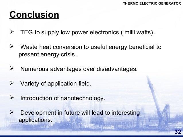 Thermoelectric Generators Seminar Ieee