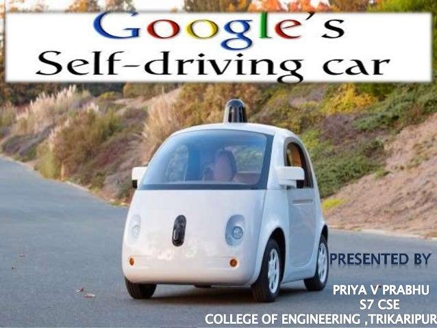 Google self driving car technology