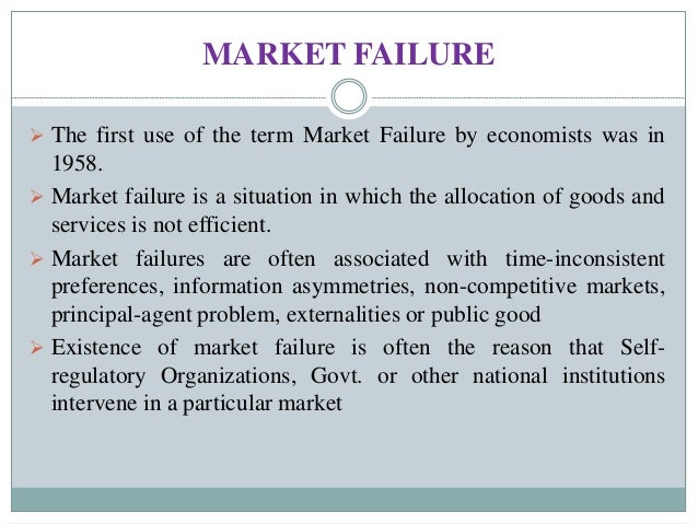 market failure is where the free Examples and explanation of negative externalities home micro economic essays market failure negative externalities in a free market.