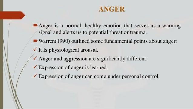 Anger/Aggression Management slideshare Slide 3