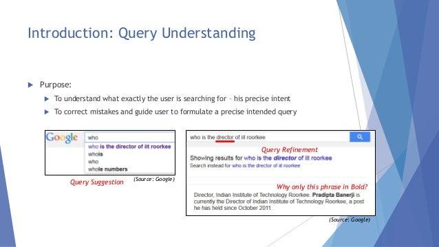 Techniques For Deep Query Understanding