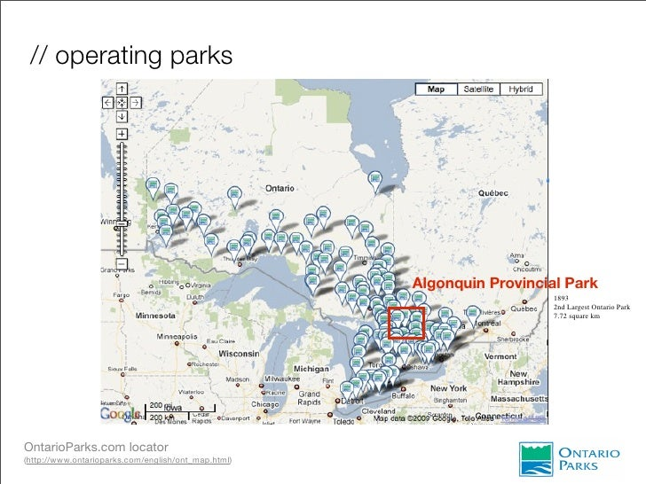 the value of resources extraction in provincial parks Values and pressures associated with cottage lot  park august 7, 2013 ontario ministry of natural resources i  algonquin is one of only two provincial parks in .