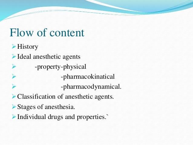 inhalational agents:brief review Slide 2