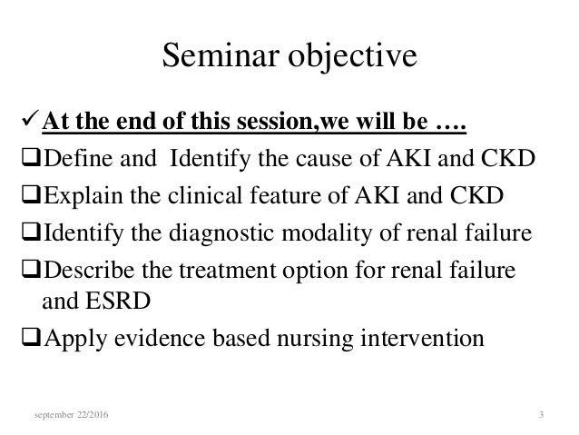 Aki vs ckd nursing