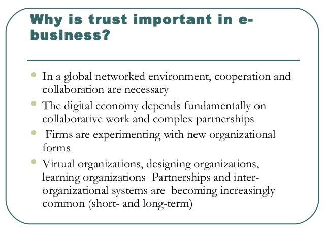 trust in business is a means Trust in business, media and ngos is going down everywhere though overall trust in business is higher than trust in government.